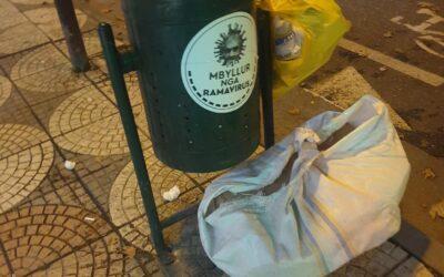 Koshat e plehrave ne Tirane